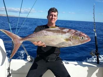 Amberjack - Lars Erik Eriksson from Sweden on the Cavalier Cavalier & Blue Marlin Sport Fishing Gran Canaria