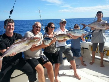 Well done - Satisfied Anglers Cavalier & Blue Marlin Sport Fishing Gran Canaria