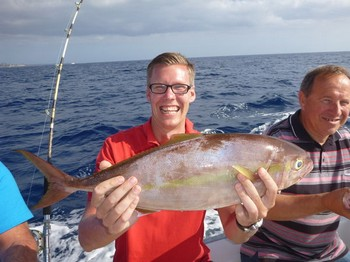 Amberjack - Well done, Peter Frederiksson from Sweden Cavalier & Blue Marlin Sport Fishing Gran Canaria