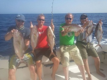 Happy Anglers on the boat Cavalier Cavalier & Blue Marlin Sport Fishing Gran Canaria