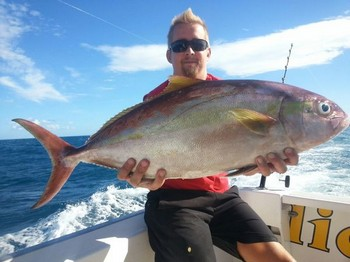 Amberjack - Nice catch on the boat Cavalier Cavalier & Blue Marlin Sport Fishing Gran Canaria