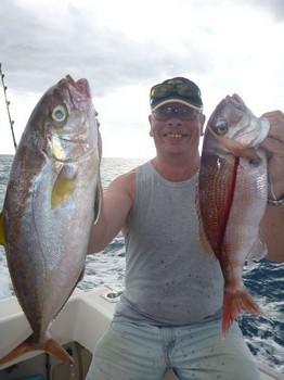 Bien hecho - Peter Zeestraten de Holanda en el barco Cavalier Pesca Deportiva Cavalier & Blue Marlin Gran Canaria