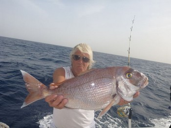 Red Snapper caught on the boat Cavalier Cavalier & Blue Marlin Sport Fishing Gran Canaria