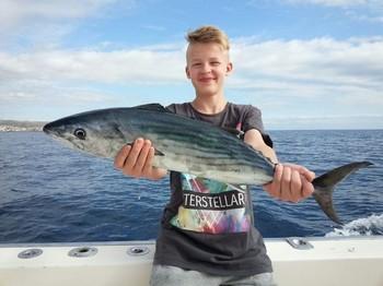 North Atalntic Bonito - Nice catch on the boat Cavalier Cavalier & Blue Marlin Sport Fishing Gran Canaria