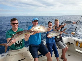 Well done - Nice catch on the boat Cavalier Cavalier & Blue Marlin Sport Fishing Gran Canaria