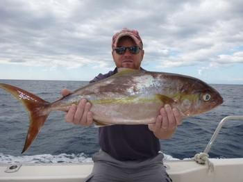 Amberjack - Torbjörn Svanberg de Suecia en el Cavalier Pesca Deportiva Cavalier & Blue Marlin Gran Canaria