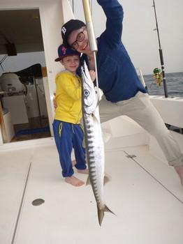 Barracuda - Junior Philip atrapó esta hermosa Barracuda en el Cavalier Pesca Deportiva Cavalier & Blue Marlin Gran Canaria
