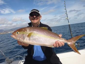 Amberjack - Reidar Erke from Norway Cavalier & Blue Marlin Sport Fishing Gran Canaria