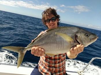 Amberjack - Karinatti Miettinen from Finland Cavalier & Blue Marlin Sport Fishing Gran Canaria