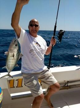 Noord Atlantische Bonito voor David Bourne uit Engeland Cavalier & Blue Marlin Sport Fishing Gran Canaria
