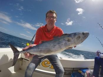 North Atlantic Bonito caught by Patrick Elzinga from Holland Cavalier & Blue Marlin Sport Fishing Gran Canaria