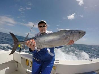 North Atlantic Bonito caught by Michael Wasiak from Poland Cavalier & Blue Marlin Sport Fishing Gran Canaria