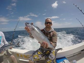 North Atlantic Bonito caught by José Ignacio from Las Palmas Cavalier & Blue Marlin Sport Fishing Gran Canaria