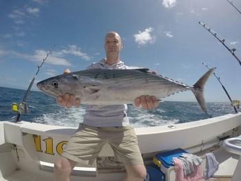 North Atlantic Bonito caught by Nick Migchelsen from Holland Cavalier & Blue Marlin Sport Fishing Gran Canaria