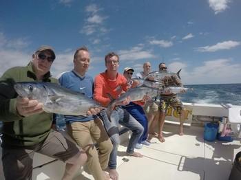 Happy Fishermen on the boat Cavalier Cavalier & Blue Marlin Sport Fishing Gran Canaria
