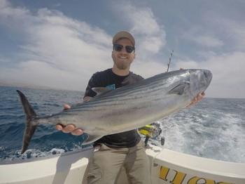 Bonito del Atlántico Norte capturado por Alf Markus Samuelsen de Noruega Pesca Deportiva Cavalier & Blue Marlin Gran Canaria