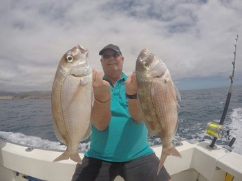 Red Snappers - Two Red Snappers caught by Jan van der Deijl from Holland Cavalier & Blue Marlin Sport Fishing Gran Canaria