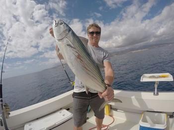 Bonito del Atlántico Norte capturado por Ryan Himmelman Pesca Deportiva Cavalier & Blue Marlin Gran Canaria