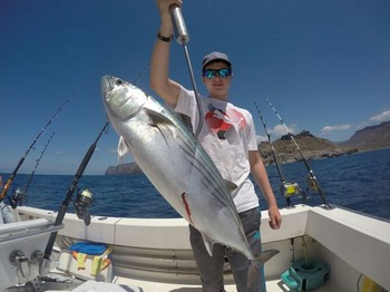 North Atlantic Bonito - Eli Frith del Reino Unido Pesca Deportiva Cavalier & Blue Marlin Gran Canaria