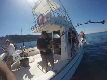 Luchando contra Hendrik Pesca Deportiva Cavalier & Blue Marlin Gran Canaria