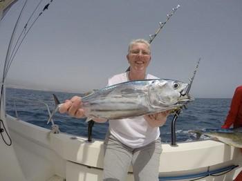 Skipjack Tuna - Petra van Ieperen from Holland Cavalier & Blue Marlin Sport Fishing Gran Canaria