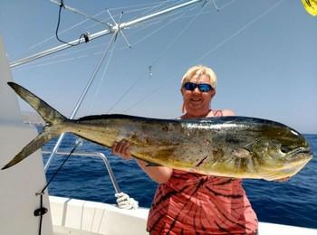 Dorado - Linda Völler from Germany Cavalier & Blue Marlin Sport Fishing Gran Canaria