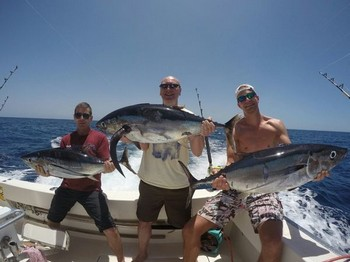 Satisfied Anglers - Happy anglers on the boat Cavalier Cavalier & Blue Marlin Sport Fishing Gran Canaria