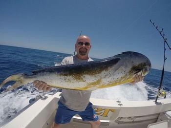 Dorado  caught by Huw Williams from Wales Cavalier & Blue Marlin Sport Fishing Gran Canaria