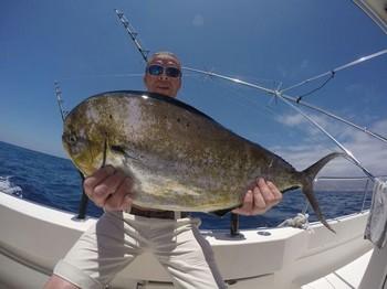 Dorado caught by John Powell from the United Kingdom Cavalier & Blue Marlin Sport Fishing Gran Canaria