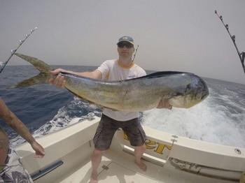 Dorado - Jos van Loo uit Holland Cavalier & Blue Marlin Sport Fishing Gran Canaria