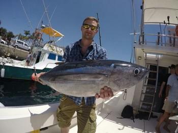 Albacore Tuna - Andreas Petermichl on the boat Cavalier Cavalier & Blue Marlin Sport Fishing Gran Canaria