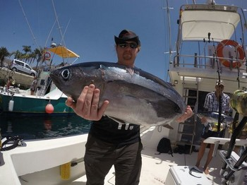 Albacore Tuna - Bernard König from Germany Cavalier & Blue Marlin Sport Fishing Gran Canaria