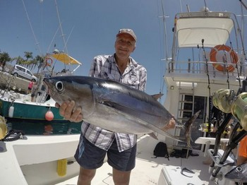 Albacore Tuna - Well done Frank Tollnick from Germany Cavalier & Blue Marlin Sport Fishing Gran Canaria