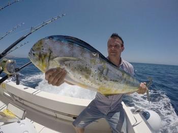 Dorado caught by Ruben Almeida from Germany Cavalier & Blue Marlin Sport Fishing Gran Canaria