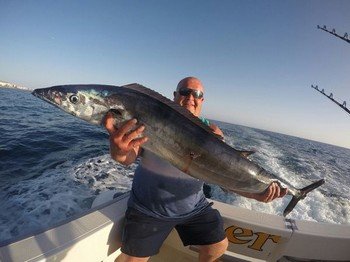 Wahoo - Paul Wood from the UK caught this Wahoo on the boat Cavalier Cavalier & Blue Marlin Sport Fishing Gran Canaria