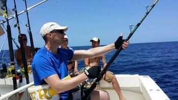 Hooked Up - Jos van Loo de Holanda Pesca Deportiva Cavalier & Blue Marlin Gran Canaria