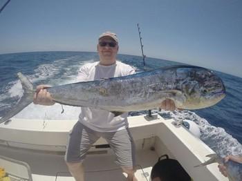 Dorado - Roland Spierings on the boat Cavalier Cavalier & Blue Marlin Sport Fishing Gran Canaria