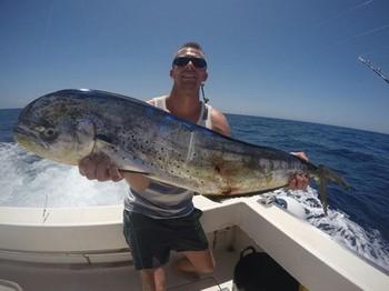 Dorado - Bien hecho Jim Nielsen de Dinamarca Pesca Deportiva Cavalier & Blue Marlin Gran Canaria