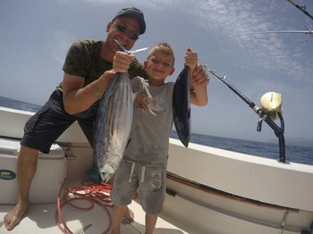 Father and Son Cavalier & Blue Marlin Sport Fishing Gran Canaria