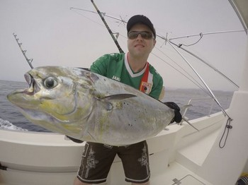 Dorado caught by Arker Christian from Germany Cavalier & Blue Marlin Sport Fishing Gran Canaria