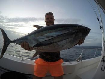 Atún blanco - Robbie Allen en el barco Cavalier Pesca Deportiva Cavalier & Blue Marlin Gran Canaria