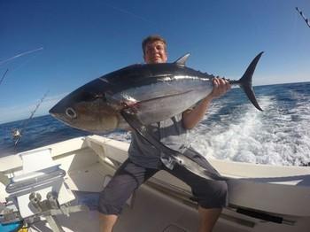 34 kg Albacore - Markus Kröne from Germany on the boat Cavalier Cavalier & Blue Marlin Sport Fishing Gran Canaria