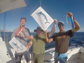 Congratulations to Stefan Liebler and Markus Kröne from Germany Cavalier & Blue Marlin Sport Fishing Gran Canaria