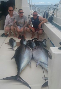 Well done - Danny,  Adam and Barry Rudge.  Congratulations Guys Cavalier & Blue Marlin Sport Fishing Gran Canaria