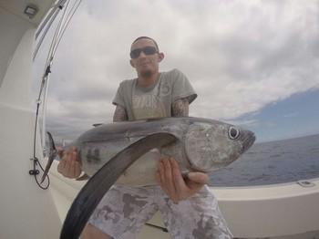 Albacore Tuna - Adam Rudge caught this Alabore on his 30th birthday Cavalier & Blue Marlin Sport Fishing Gran Canaria