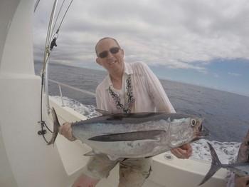 Albacore - Barry Rudge en el barco Cavalier Pesca Deportiva Cavalier & Blue Marlin Gran Canaria