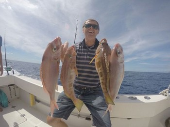 Herzliche Glückwünsche Cavalier & Blue Marlin Sportfischen Gran Canaria