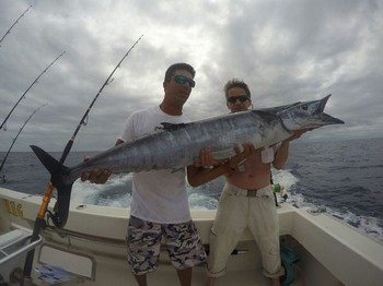 Wahoo caught by Alexander Hanika Cavalier & Blue Marlin Sport Fishing Gran Canaria