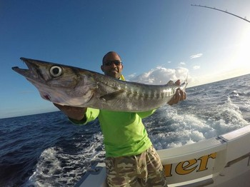 Baracuda - Congratulations Mike,  well done Cavalier & Blue Marlin Sport Fishing Gran Canaria