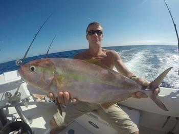 Amberjack caught by Heiko Utero from Germany Cavalier & Blue Marlin Sport Fishing Gran Canaria